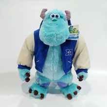Free shipping 43cm Sulley Sullivan Plush Toy Stuffed Animals Baby Kids soft Toy for Children Gifts 70cm monsters university sulley sullivan plush toy stuffed animals baby kids soft toy for children gifts soft pillow toy dolls