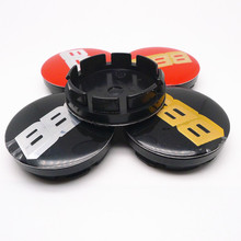 4pcs 56mm For BBS Car Wheel Center Cap Hubs Emblem Badge Auto Styling Dusproof Decal Cover