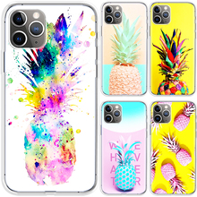 Colorful Pineapple Protector For Apple iPhone 12 Case For iphone 11 Pro max Mini Case SE 2020 7 8 6 6S Plus X XR XS MAX Case Cov
