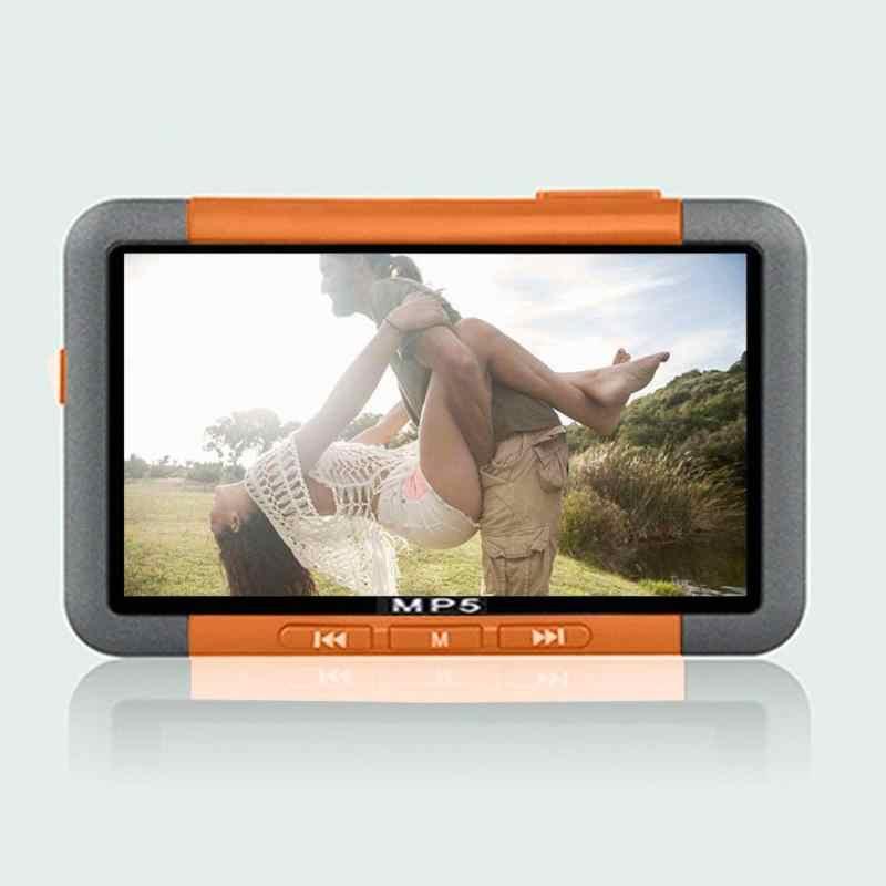 3 cal cienki ekran LCD przycisk HD 720P MP5 wideo multimedialny odtwarzacz muzyki FM Radio przenośny sprzęt audio i wideo