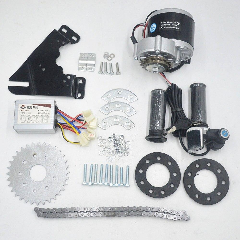 24V 36V 350W elektrische fahrrad Motor conversion Kit elektrische Schaltwerk Motor Set für Variable straße/ berg Fahrrad