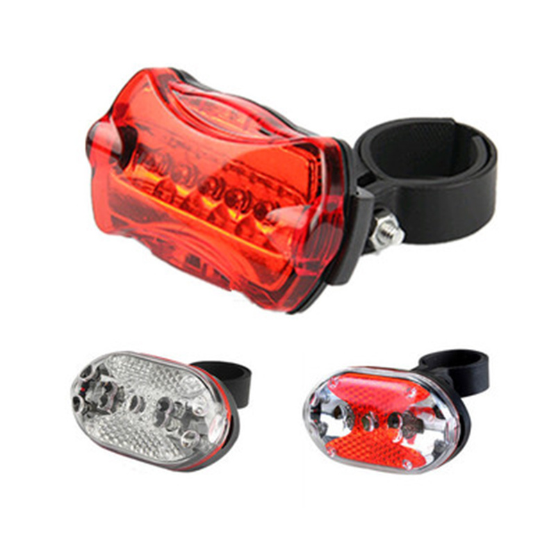 Cycling Bicycle Light LED Bike Tail Lights Warning Bicycle Light Tail Lamp Waterproof Bike Accessories Lights Cycling Lamp