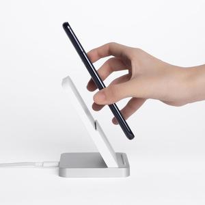 Image 2 - Cargador inalámbrico refrigerado por aire Vertical Original Xiaomi 30W Max con carga de Flash para teléfono inteligente Xiaomi Mi