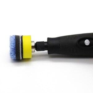 Image 2 - 28pcs/69pcs Mini Polishing Machine Car Beauty Detailing Polisher Extention Tools Polishing Kit  Polishing Pad Kit