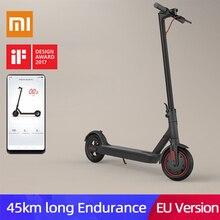 Xiaomi mijia M365 Pro, Электрический скутер для взрослых, Лонгборд, скейтборд на ховерборде, 2 колеса, патинет, Электрический скутер, 45 км, пробег