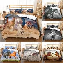Комплект постельного белья с пододеяльником и наволочкой 3d