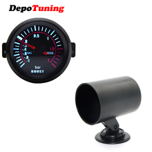 DepoTuning2'' 52 мм Универсальный дым объектив турбо Boost бар Калибр метр+ Калибр держатель комбинации