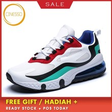 CINESSD Air Cushion Running Shoes Couple Breathable Outdoor Athletic Walking Shoes Durable Sport Jogging Trainers Lover Sneakers