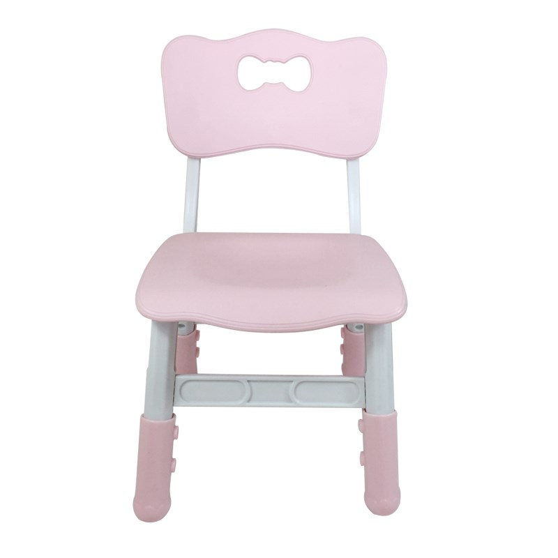 Children's Plastic Chair Can Lift Chair Desk Chair Kindergarten Baby Chairs Antiskid Small Wooden Bench Dining Chair