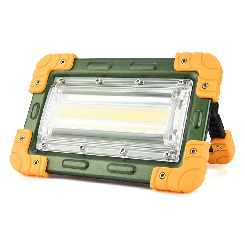 30W LED COB Work Light IP65 Waterproof USB Rechargeable Floodlight Spotlight Outdoor Camping Emergency Lantern Powers Bank Torch