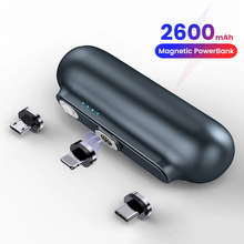 Magnet-Charger Power-Bank External-Battery iPhone Xiaomi 2600mah Portable for 12 Mini