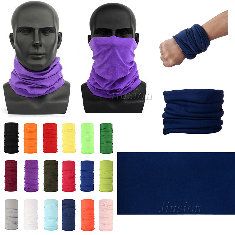 Bandana Headband Men Women Magic Scarf Outdoor Sports Cycling Bicycle Riding Neck Tube UV Shield Headwear Seamless Face Mask