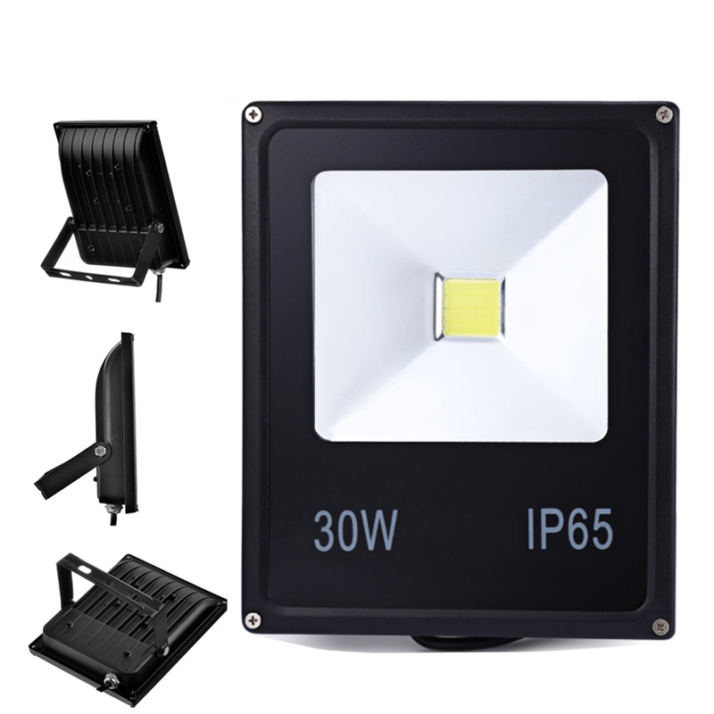 12V LED Floodlights 10W 20W 30W 50W IP65 Outdoor DC12-24V LED Spotlights IP65 Waterproof Floodlight for Boat and Swim Pool image