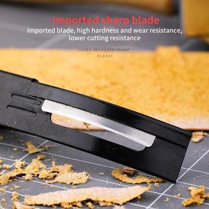 Для дома аксессуары ручной работы + 3 лезвия стали современный безопасный скошитель Skiver истончение Кожа ремесло лезвие нож DIY швы инструмент