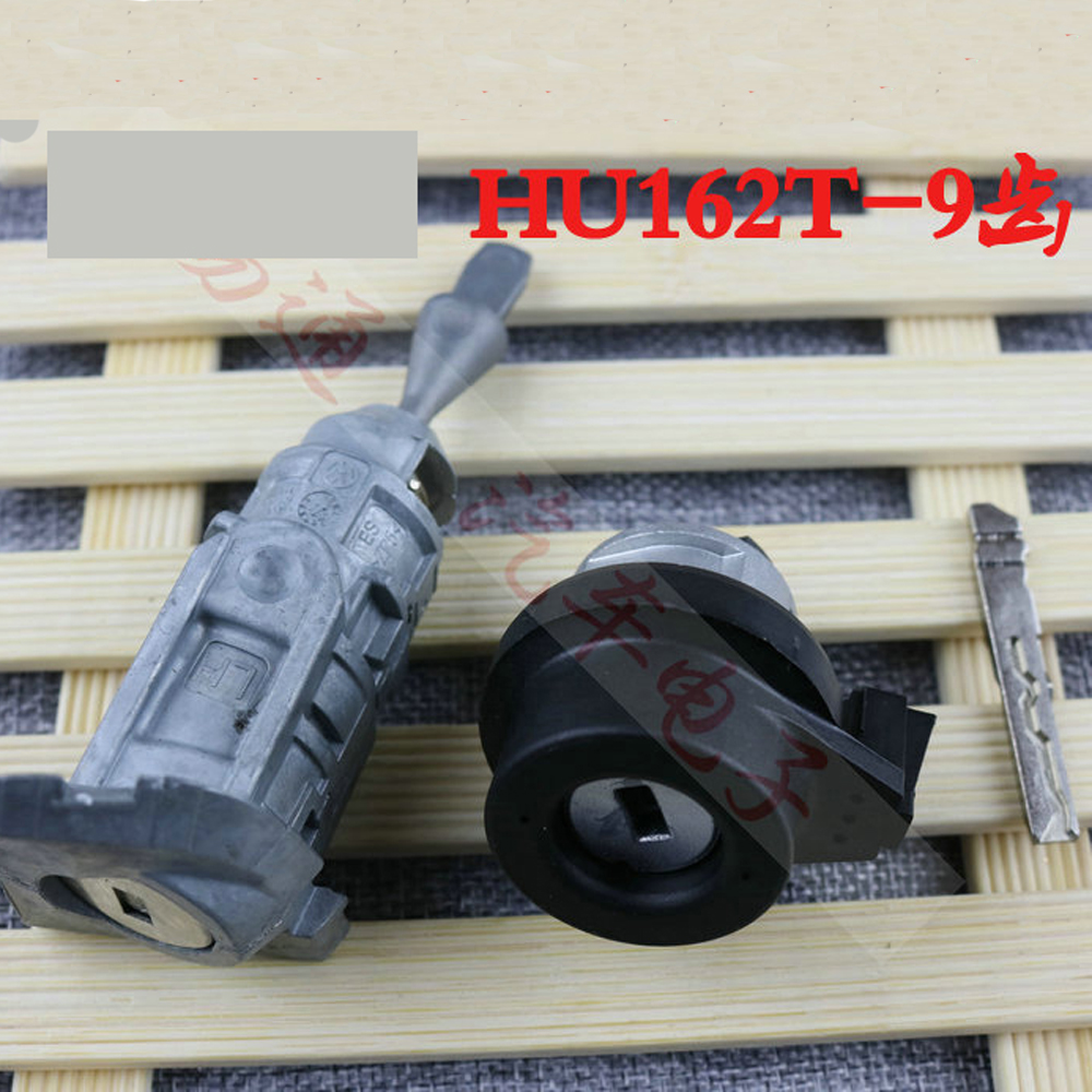HU162T 9 Teeth Original Ignition Lock Installation Lock For Volkswagen VW Golf Auto Door Cylinder Locksmith Tool