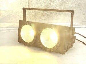 Image 3 - NEW 2eyes 2x100w LED Warm White 3200K 200W Led Audience light DMX LED COB 200W Led Strobe dj light wash beam stage effects