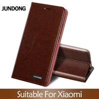 Flip Case For Xiaomi Mi 5s 6 8 9 A1 A2 lite Max 3 Mix 2s 3 Poco F1 Oil wax skin Wallet Cover For Redmi Note 4X 5 6 7 8 Pro case