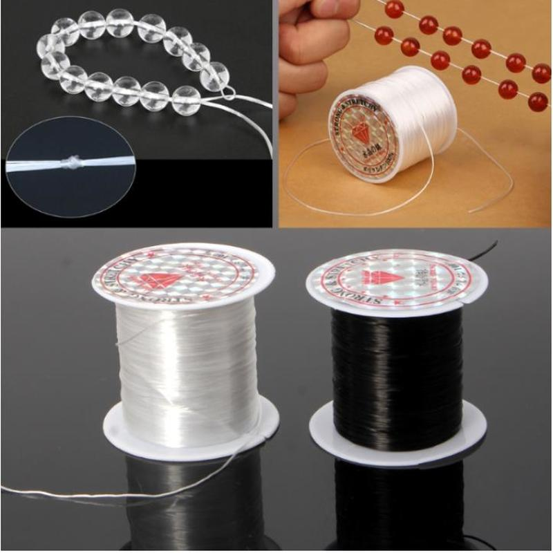 Multi-Color Stretch Elastic Crystal Line Beading Rope String Cord For Jewelry Making DIY Handmade Bracelet Necklace