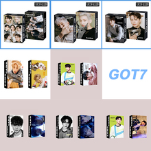 MARK Lomo Cards Kpop Got7 BAMBAM K-Pop Got7-Supplies JACKSON 30pcs/Set High-Quality HD