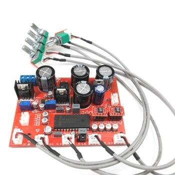 LM4610 Stereo HIFI Pre-Amp Preamplifier Tone Board o Amplifier OP275 OPAMP Volume Tone Control