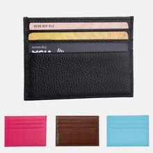 2020 маленький кошелек для карт женский модный унисекс банковских