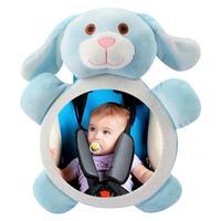 Safety Seat Rear View Mirror Baby Car Baby Mirror Reverse Installation Car Interior View Distorting Mirror|Rear Facing Mirrors|   -