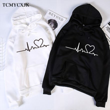 2020 Autumn Fleece Love Printed Letter Hoodie Sweatshirt Wom