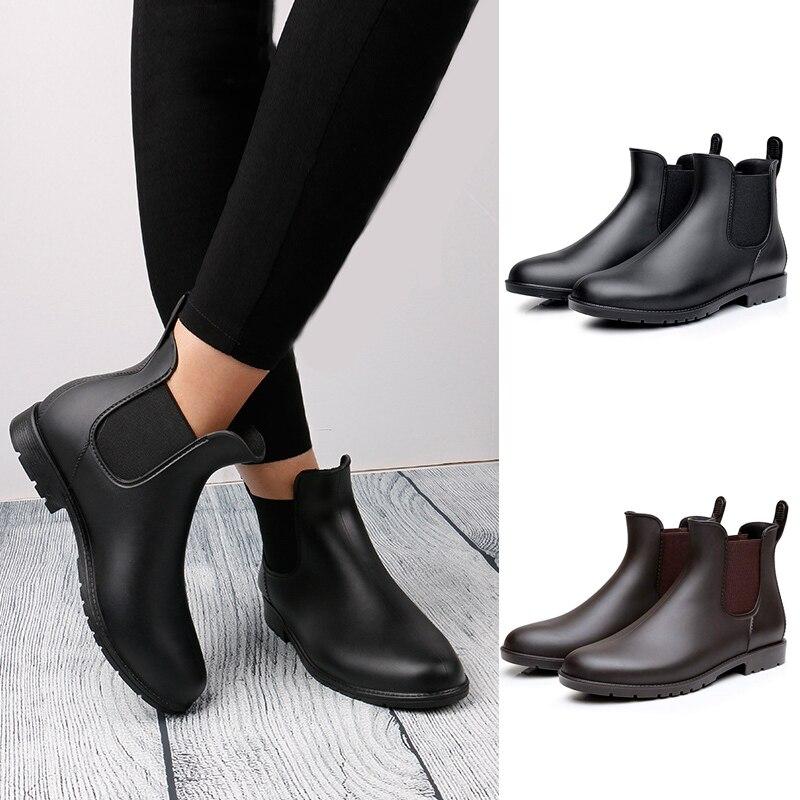 Botines bottes femme chaussures hiver femmes bottines Chelsea bottines botas mujer chaussures femme imperméable Martin bottes D25