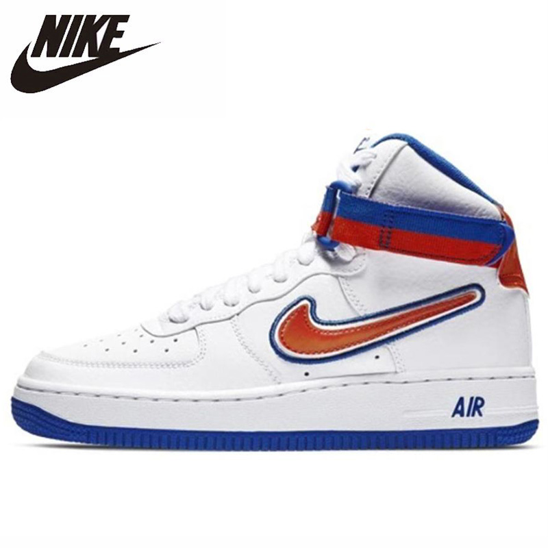 Authentic Nike Air Force 1 High LV8 Sport GS Women's Skateboarding Shoes Sneaker Original Sports Wear Resistant Outdoor