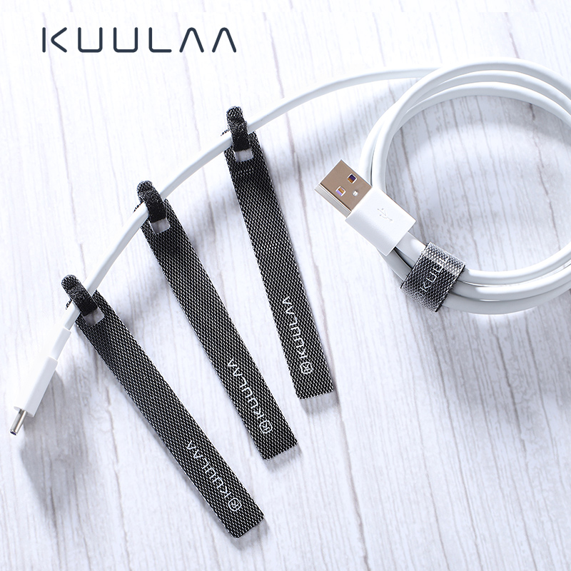 KUULAA Cable Organizer for Phone USB Cable Wire Winder Earphone Holder Mouse Cord Protector Power Wire cable Management HDMI Aux pedal straps healthrider amazon