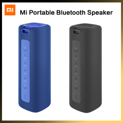 Mi Portable Bluetooth Speaker Xiaomi 16W TWS Connection High Quality Sound IPX7 Waterproof 13 Hours Playtime