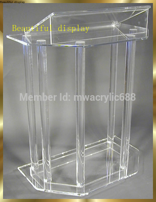 Pulpit Furniture Free Shipping Beautiful Acrylic Podium Pulpit Lectern Acrylic Pulpit Plexiglass