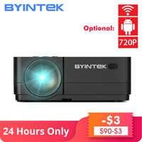 BYINTEK K7 Android wifi LED intelligent Mini Portable vidéo HD projecteur pour Iphone Ipad Smartphone tablette jeu 1080P Home cinéma