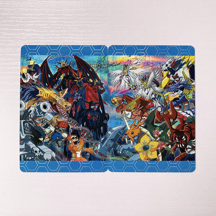 2pcs/set Digital Monster The Final Battle Of The Big Adventure Toys Hobbies Hobby Collectibles Game Collection Anime Cards