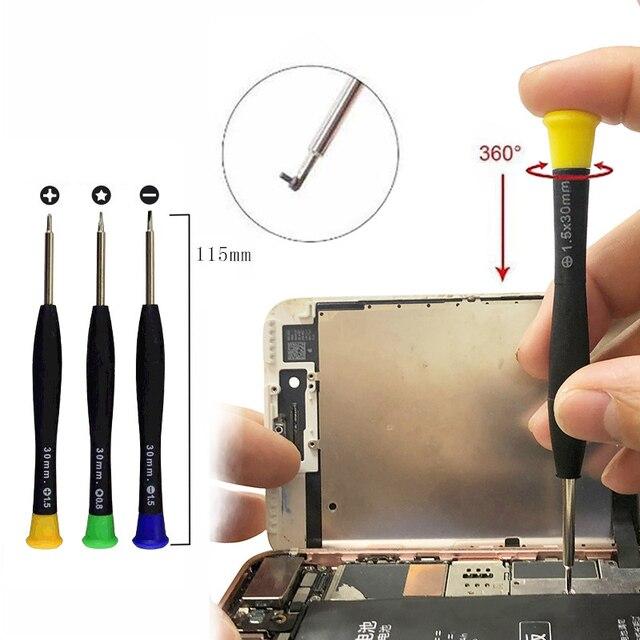 26 in 1 Phone Repair Tools Cell Phone Opening Pry Repair Kits Screwdriver Set for Samsung Xiaomi iPhone Repair Tool Kits 5