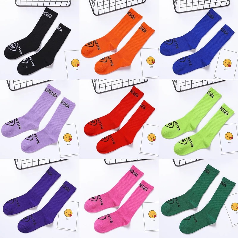 Children Tube Socks Fashion Socks Autumn And Winter New Style Hose South Korea Girls Half Length Socks Cotton Bunching Socks BOY