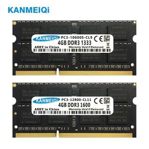 Image 5 - KANMEIQi DDR3 4GB 8GB دفتر ذاكرة الوصول العشوائي DDR3L 1333/1600MHZ 1.35v 204pin ذاكرة الكمبيوتر المحمول SO dimm جديد 2G 1.5V