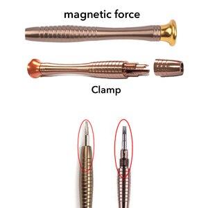 Image 5 - Zestaw wkrętaków 25 w 1 śrubokręt Torx skórzany pokrowiec otwarcie naprawa zestaw narzędzi dla iPhone telefon komórkowy zegarek tablety PC narzędzia ręczne