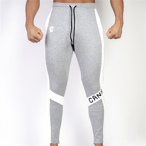 Image 5 - New Men Joggers Casual Pants Fitness Men Sportswear Trousers Bottoms Skinny Sweatpants Trousers Black Gyms Jogger Sweat Pants