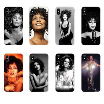 Sexy Singer Whitney Houston For Samsung Galaxy A10 A20 A20E A3 A40 A5 A50 A7 J1 J3 J4 J5 J6 J7 2016 2017 2018 TPU Cases image