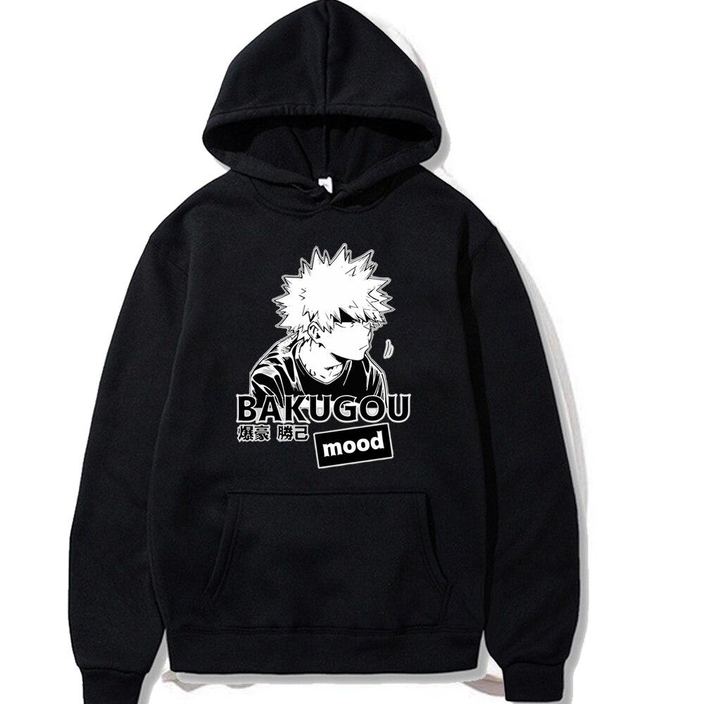 My Hero Academia Bakugou Katsuki Unisex Hoodie Printed Men/women Hoodie Long Sleeve Sweatshirt