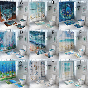 Seaside Scenery Shower Curtain