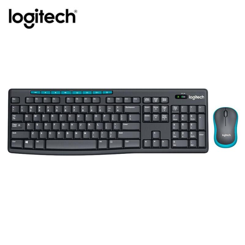 Logitech MK275 Computer Keyboard USB Wireless 1000DPI Optical Mouse Photoelectricity with Multimedia Function Key  Kit Combos|Keyboards| |  - title=