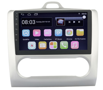 9 octa-core 1280*720 QLED screen Android 10 Car GPS radio Navigation for ford Mondeo Focus S-max C-Max Transit Galaxy image