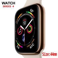 Smart Watch Series 4 custodia SmartWatch 1:1 per Apple watch iOS iphone telefono Android con contapassi ECG frequenza cardiaca 44mm Bluetooth