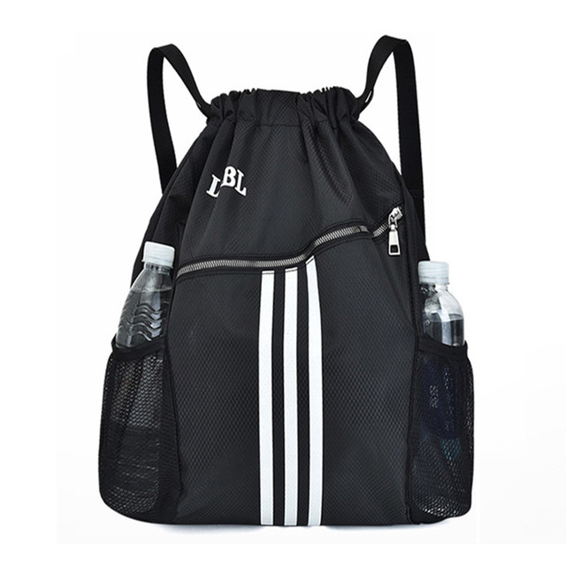 Outdoor Sports Gym Bags Basketball Backpack For Sports Bags Women Fitness Yoga Bag Drawstring Gym Bag 3