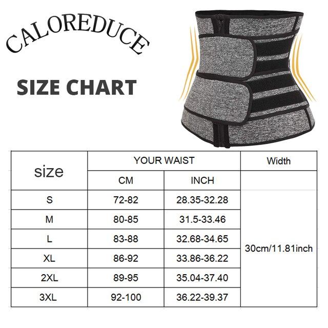 Neoprene Sweat Waist Trainer Corset Trimmer Belt for Women Fat Loss Waist Cincher Body Shaper Slimmer Adjustable Velcro Control 5