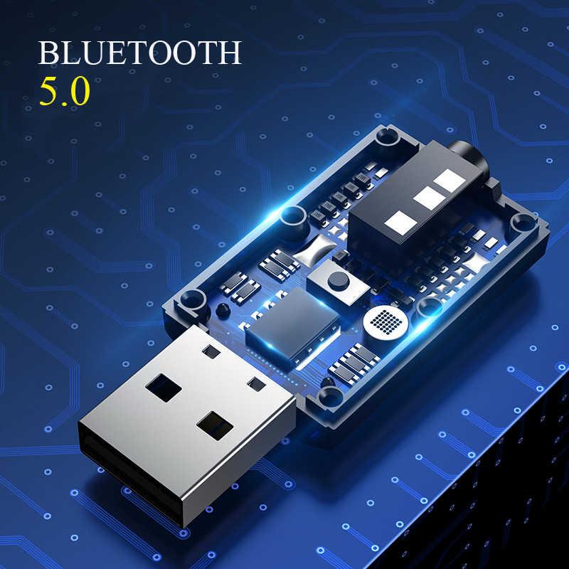 سيارة محول بلوتوث 5.0 بلوتوث استقبال الارسال جهاز استقبال للموسيقى جهاز إرسال بلوتوث الصوت محول لاسلكي الملحقات