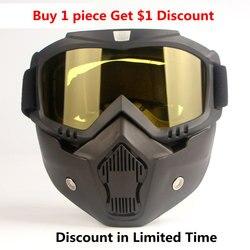 Máscara protetora capacete da motocicleta filtro óculos de proteção no local trabalho suprimentos segurança casco seguridad trabajo maska ochronna
