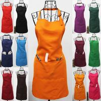 8 LOGO CAN BE PRINTED COLOR ASSORTED KITCHEN APRON WORKING APRON 20PCS LOT